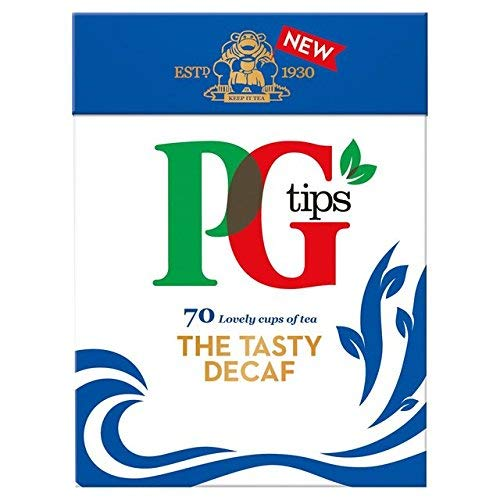 PG Tips Decaf 70 Ct Tea Bags - 4 Pack