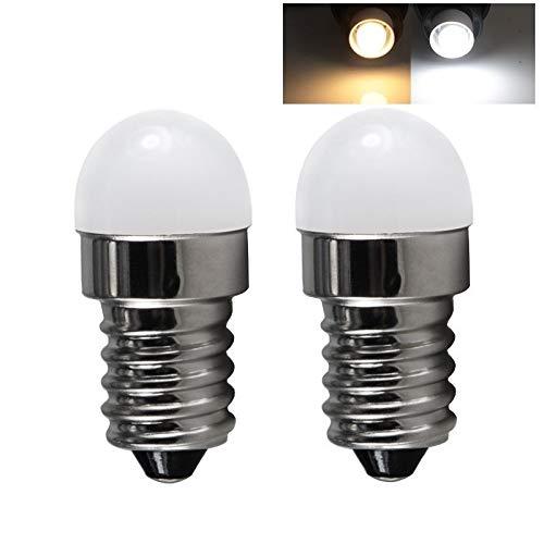 JiuRui LED Lampadine Lampadina del LED MINI Candle Light E14 Spotlight Ca- cc 12V 24V 60V 1W 12 24 60 V Volt lampadario di cristallo luci del frigorifero del frigorifero della lampada