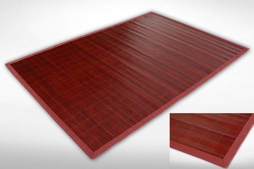 Bambusteppich JMC021 in verschiedenen Größen - 10 weitere Modelle im Amazon Händlershop von Flashtrade! (200x200cm)