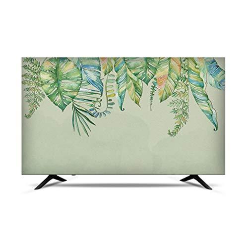 MFMYUANHAN TV CUBIERTE Smart LCD LED TV Cubierta A Prueba De Agua Y Cubierta De Pantalla A Prueba De Sol (Verde 50 Pulgadas)(Size:37in,Color:2#)
