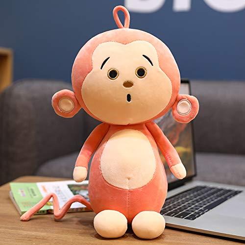 Juguete de Peluche 1pcs38 Cm Happy Monkey Doll Monkey Rag Doll Big Mouth Monkey Plush Toy Doll Birthday Girl Pillow