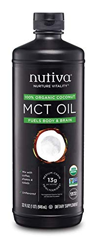 Nutiva Organic MCT Oil, 32 Fl Oz