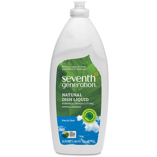 Seventh Generation Dish Liquid - 25 oz - Free & Clear ...