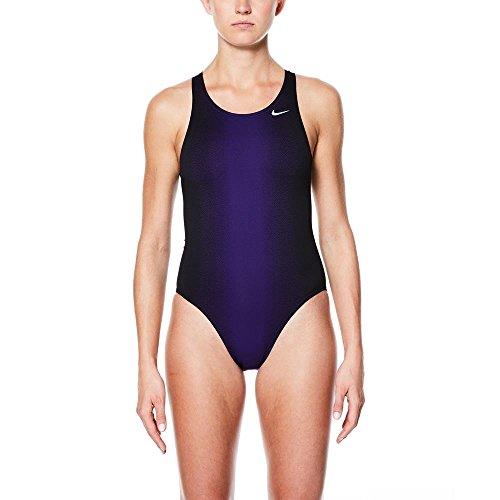 Nike Damen Badeanzug Fade Sting Fastback One Piece (Court Purple, 36)