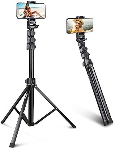 UBeesize 67 Phone Tripod Stand Selfie Stick Tripod All in One Professional Cell Phone Tripod product image
