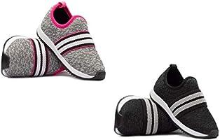 Kit com Dois Tênis Jogging Infantil Unissex Casual