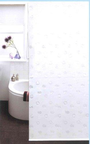 Duschrollo HAWAII - weiß - 140x240 cm