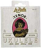 Labella SET12 Jeu de Cordes en nylon pour Ukulélé Ténor
