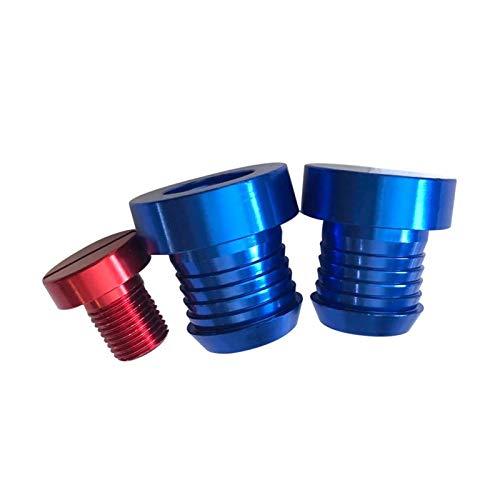 LXH-SH Das elektromagnetische Ventil Aluminium AGR-Ventil Verschlussstopfen Kühler & Thermostat Bondes Removal Kit Fit for 1 3 5 7 Series Industriebedarf