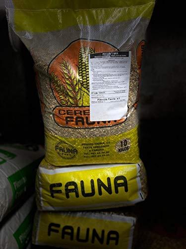 Piensos Fauna Picon Mix 10kg. Mezcla de Cereales Natural