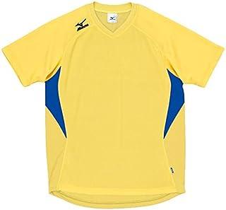 MIZUNO(ミズノ) ゲームシャツ (ドッジボール)その他スポーツ ドッジボール (A62HY144) 96イエロー×ブルー