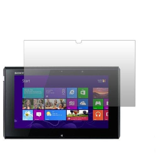 Slabo 2 x Bildschirmschutzfolie kompatibel mit Sony VAIO Duo 11 (11,6 Zoll) Bildschirmschutz Schutzfolie Folie Crystal Clear