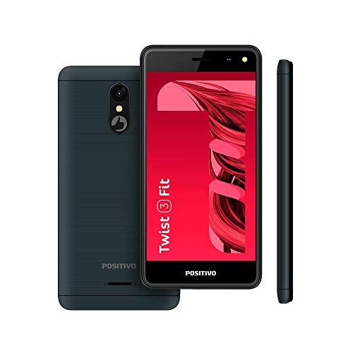"Smartphone Positivo Twist 3 Fit S509C 32GB Dual Chip 5"" - Cinza"