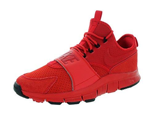 Nike Free Ace Lthr, Scarpe da Calcio Uomo, Rosso (University Red Unvrsty Red), Nero, 47.5 EU