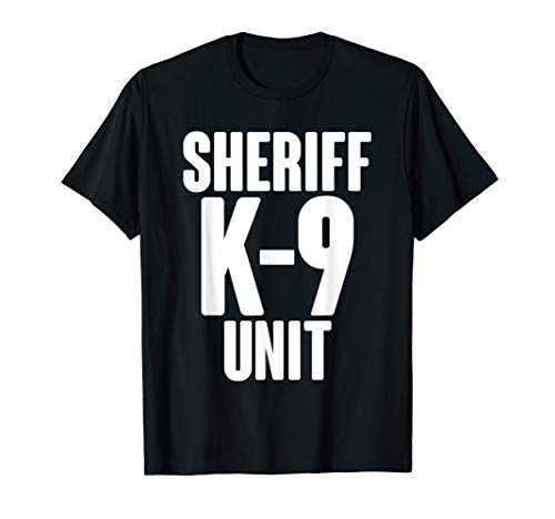K9 Sheriff K-9 Unit T-Shirt