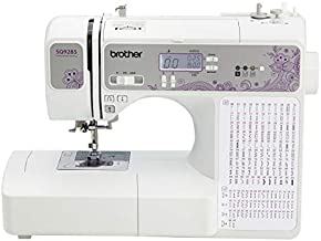 Brother 150-Stitch Computerized Sewing & Quilting Machine (Refurbished) with Wide Table, White