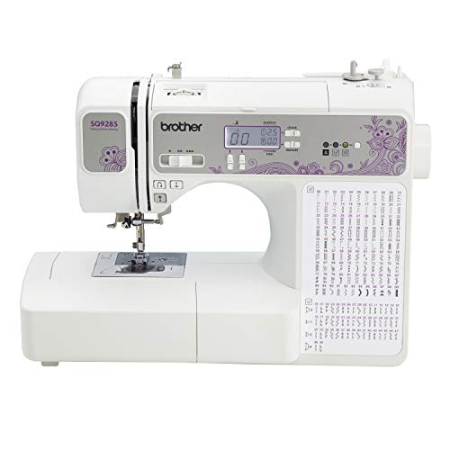 Brother 150-Stitch Computerized Sewing & Quilting Machine with Wide Table, White