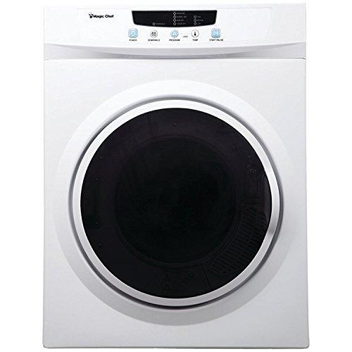 Magic Chef MCSDRY35W 3.5 cu ft Compact Electric Dryer, White