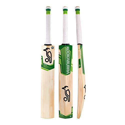 KOOKABURRA Cricket Bat Kahuna 5.2 Cricketschläger, grün, Kurzer Griff