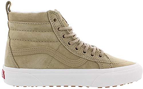 Vans Damen Sk8-Hi Vn0A33Txuc31 Hohe Sneaker, Beige MTE Denim Coriander, 39 EU