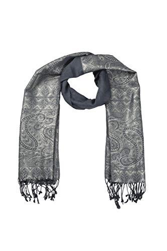 Vestidos para mujer, para fiestas, chales de cachemir y envolturas para vestidos de noche (gris)