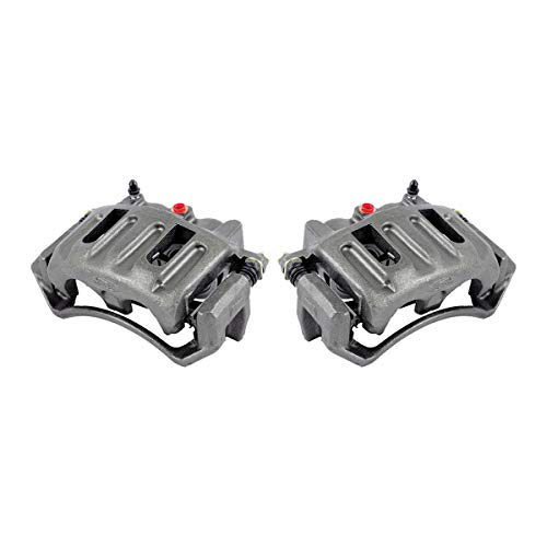 Callahan CCK11367 [2] FRONT Premium Grade OE Semi-Loaded Caliper Assembly Pair Set