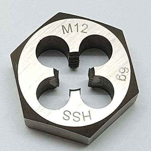 M12 Schneideisen SECHSKANT Schneidmutter Regelgewinde