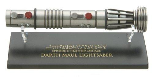 Star Wars Episode II Darth Maul Battle-Damaged Lightsaber