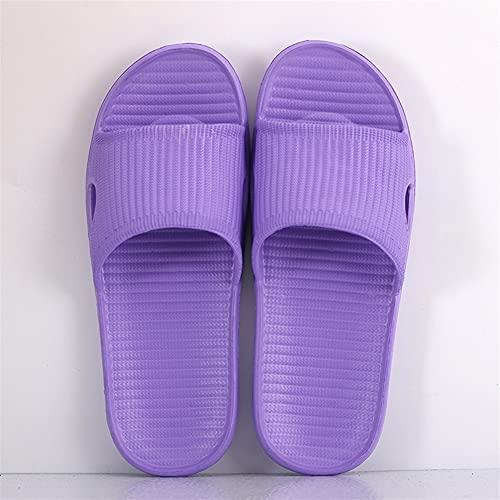 Zapatillas De Interior Para El Hogar Para Mujer, Chanclas Antideslizantes De Verano, Zapatillas De Baño, Pareja, Familia, Zapatos Planos, Sandalias Y Zapatillas De Hotel