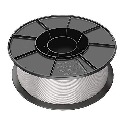 SIMAX3D 1,75 mm PLA-Filament Silber für 3D-Drucker Extruder Stift Kunststoff Zubehör 1 kg Spulen Impresora 3D Filament Silber