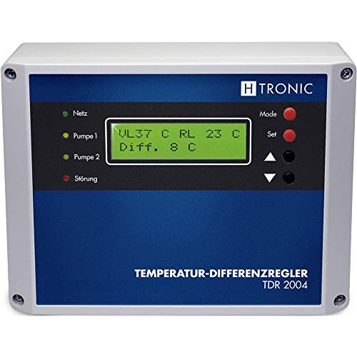 H-Tronic 110990 TDR 2004 Temperatur-Differenz-Regler