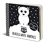 Milo's Black and White  Animals - The Perfect High Contrast Book for Newborns
