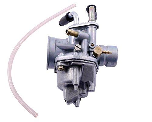 2EXTREME Standard Vergaser, manueller Choke, kompatibel für YAMAHA BWs, NG, Bump, Spy, Slider, Zuma, II 50cc