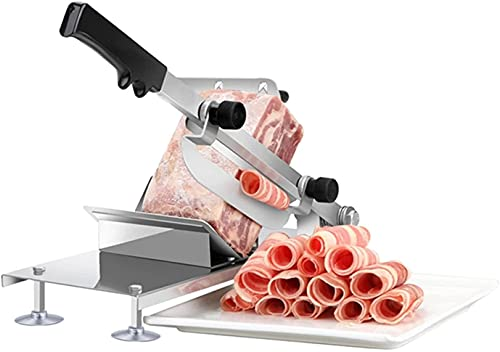 FCPLLTR Máquina cortadora de Cordero de Carne rebanadora a Domicilio máquina de Carne de Carne de Carne de Cordero de gordos comerciales Máquina de cepilladora de Carne congelada