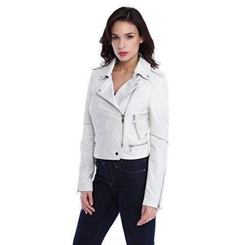 Oakwood Yoko Fun Chaqueta, Blanco (Blanc 0520), 40 (Talla del Fabricante: Large) para Mujer