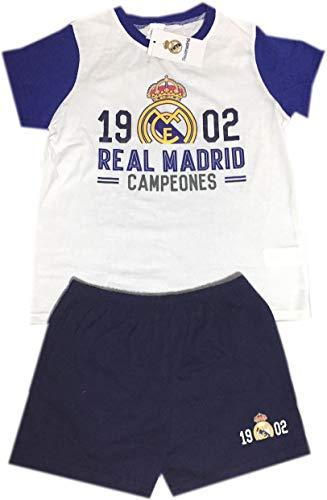 Real Madrid pijama verano niño Campeones talla 6 a 16 - 16
