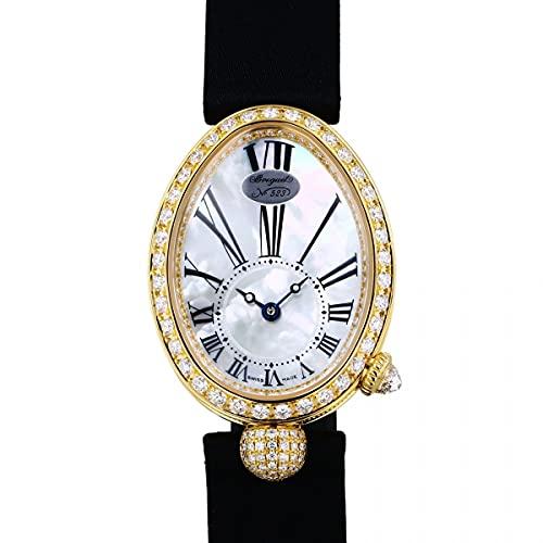 ブレゲ Breguet クイーンオブネイプルズ ベゼルダイヤ 8928BA/51/844 DD0D ホワイト文字盤 新品 腕時計 レディース (W197876) [並行輸入品]