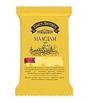[冷蔵] グラスフェッド マースダム 200g グラスフェッド チーズ ハラル NON-GMO 遺伝子組換えなし Brest-Litovsk Grassfed MAASDAM cheese 200g halal certified Брест-Литовск маасдам сыр 200г