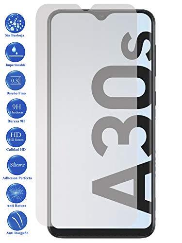 Todotumovil Protector de Pantalla Galaxy A30S de Cristal Templado Vidrio 9H para movil