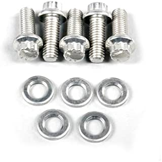 ARP 771-1010 Stainless Steel M8 x 1.25 Thread 65mm UHL 12-Point Bolt with 10mm Socket and Washer,  (Set of 5)