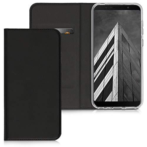 kwmobile Cover Compatibile con ASUS Zenfone Max PRO (M1) ZB601KL - Custodia a Libro in Simil Pelle PU per Smartphone - Flip Case Protettiva