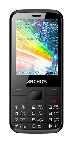 ARCHOS 502925 Handy F28 Dual SIM, 7,11 cm (2,8 Zoll) schwarz
