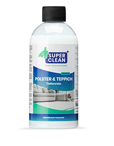 Líquido especial de alta concentración para la limpieza profunda de todo tipo de tapicería, alfombras, rieles, asientos de automóvil y fundas de asientos para automóviles