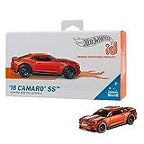 Hot Wheels id voiture CamaroSS '18 avec puceNFC intégrée, identification unique, échelle 1/64, jouet pour enfant, 8 ans et plus, FXB16