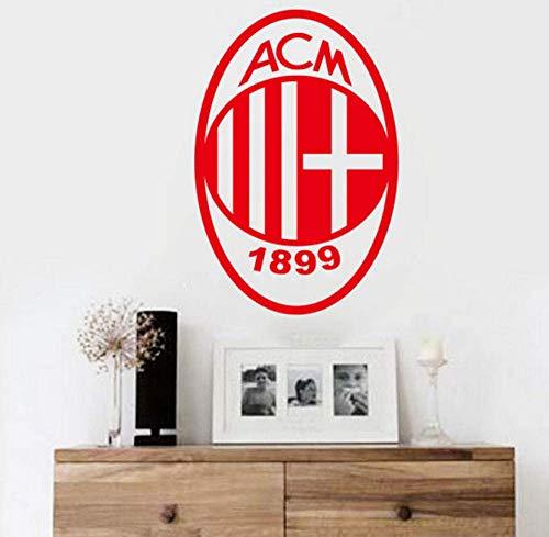 Adesivi Murali Calcio Europa League Team Logo Simbolo Adesivi Murali Fai-Da-Te Per Camerette Casa Decalcomanie Decorazioni In Vinile Decalcomanie Da Muro 40X25Cm