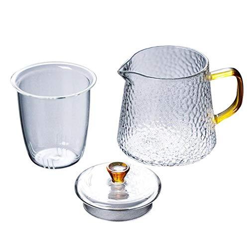 400 ml hittebestendig model de waterkoker gehamerd glas helder glas duiken was koffiefilter theepot,C