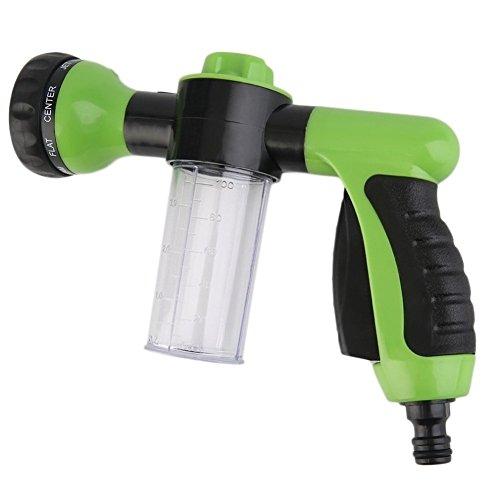 Demiawaking Demiawaking Multifunktions-Autowasch-Schaumpistole, Kunststoff-Sprühkopf, Hochdruck-Sprühpistole zur Bild