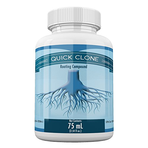 Quick Clone Gel - 75mL - Most Advanced Cloning Gel for Faster, Healthier, Stronger Rooting Clones.