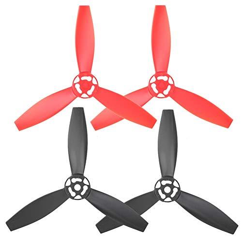 RC Drone Propeller Blade, 4-teilig RC Quadcopter Propeller Blade Upgrade-Teile Kompatibel mit Bebop 2 Drone(Typ B.)