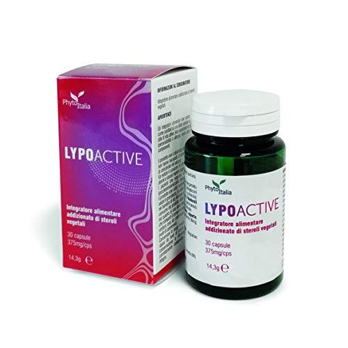 Phytoitalia LypoActive - 30 capsule - Regolatore colesterolo